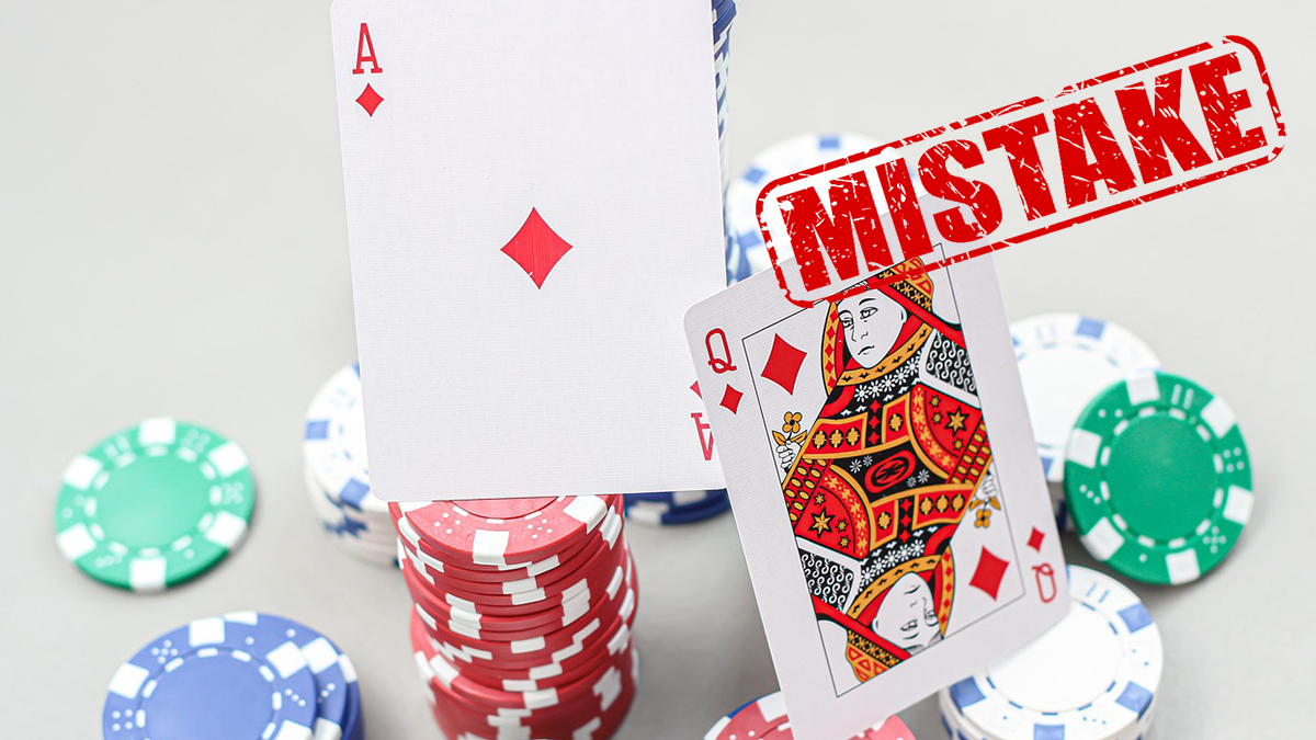 What mistakes blackjack players make most often